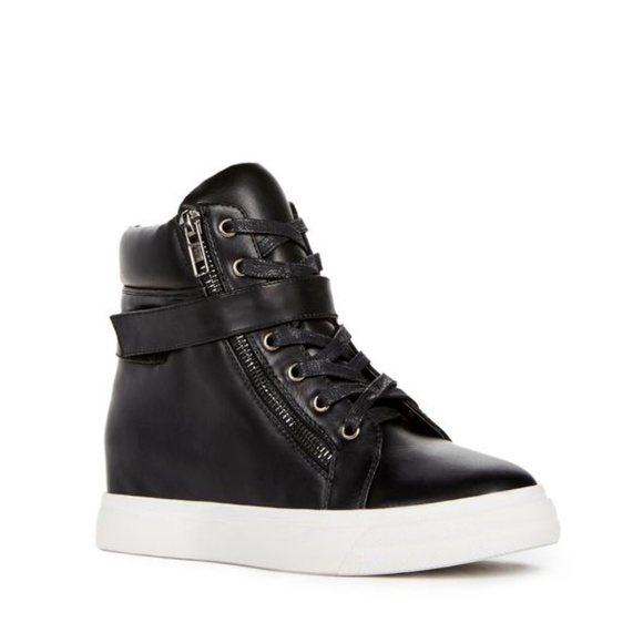 JustFab Shoes - Brand NEW Zannia Sneaker High Top Boots